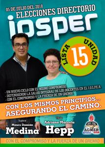 CAMPAÑA IOSPER 2018
