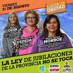CAMPAÑA CAJA DE JUBILACIONES 2018